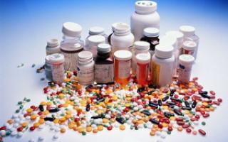 Лекарственные средства от отравления при кишечной инфекции