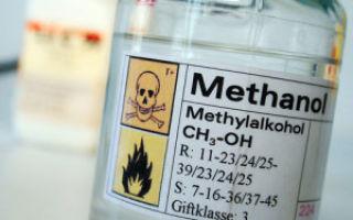 Симптомы и последствия отравления метиловым спиртом