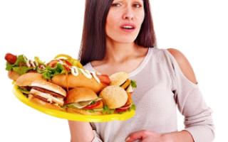 Симптомы отравления продуктами питания и бактериями