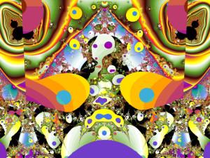 разноцветные галлюцинации