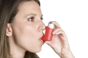 астма у женщины