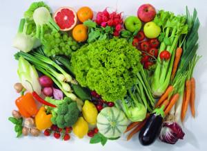 свежее овощи и фрукти
