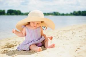 ребенок на солнце