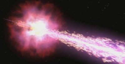 гамма-излучение метеорита